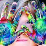 Kids Love Hand Painting