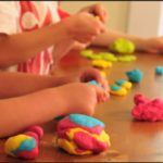 Exploring with Playdough