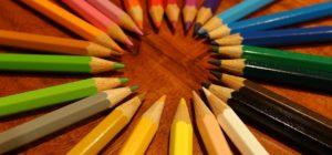 Colored pencil artwork