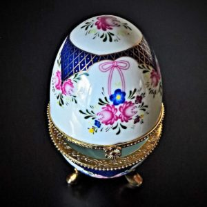 Faberge decorated Easter eggs