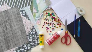 Christmas Card materials
