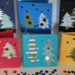 HOW TO MAKE EASY CHRISTMAS CARDS AT HOME OR SCHOOL