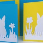 Easter Bunny Flower Cards to Make