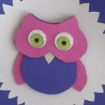 Create and Craft a Colorful 3D Owl Card