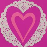 3D Pink Heart Cards for Mother's Day